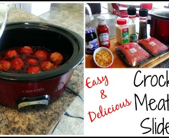 Easy & Delicious Crockpot Meatball Sliders Recipe | VIDEO |
