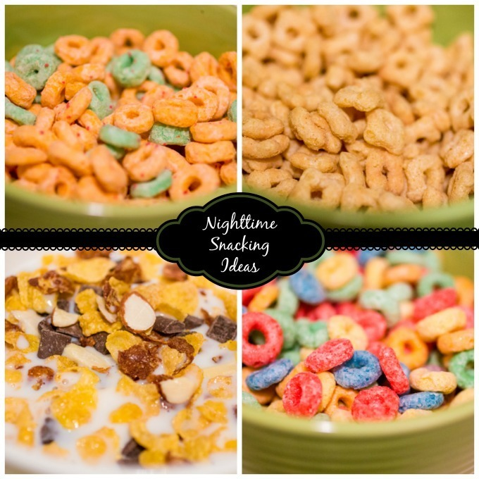 Nighttime Snacking Ideas and a Movie with Kellogg's Good Night Snack #goodnightsnack  #shop