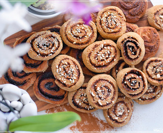 Healthy Vegan Cinnamon Buns