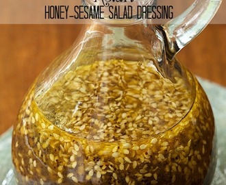 Asian Honey-Sesame Salad Dressing