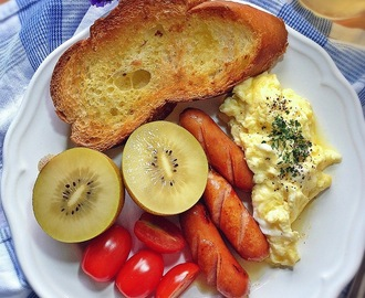 [Weekly Meal Planner #5] Recipes on Cafe-Style Inspired Breakfasts + Singapore Local Breakfast