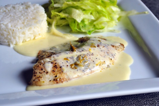 Perfect Sauce with Fish or Chicken #2: Lemon-Butter Sauce