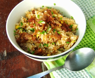 Budbud Fried Rice a la Kusina ni Teds