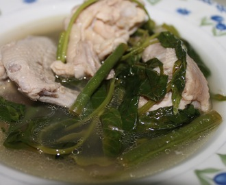 "Chicken in Tamarind Soup or ""Sinampalukang Manok"""