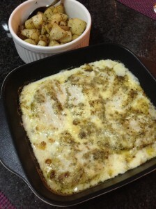 Creamy Fish | Herbed Potatoes