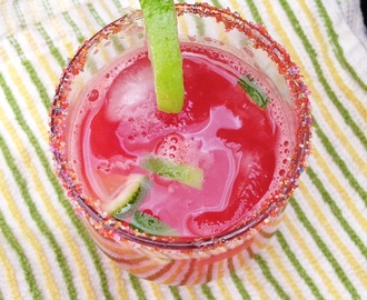 Watermelon Mocktail Drink Recipe