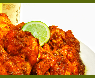 Chicken Wings in Spicy Sauce Recipe