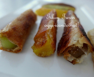 Tikoy Turon for Chinese New Year