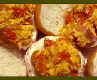 Easy-to-prepare Egg Sandwich