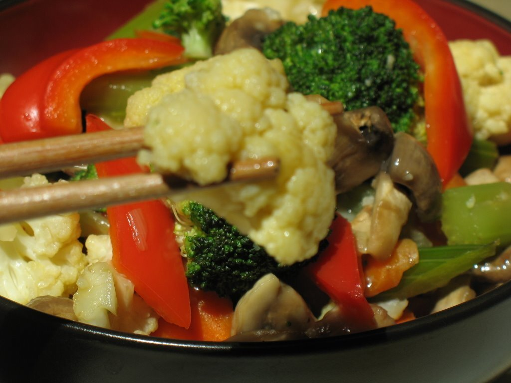 QUICK STIR FRY VEGETABLES (Chopsuey)