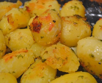 Paahdetut potut (Roasted potatoes)