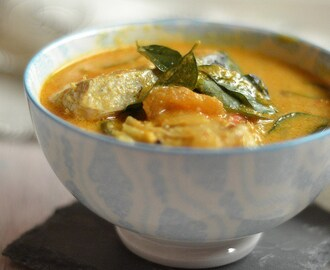 Thengapaal Meen Curry | Malabar Fish Curry with Coconut Milk