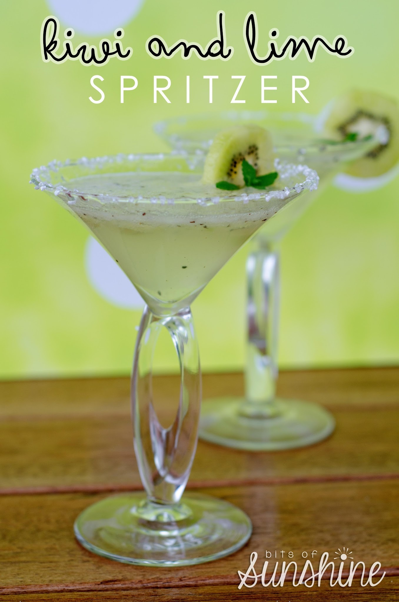 Kiwi and Lime Spritzer