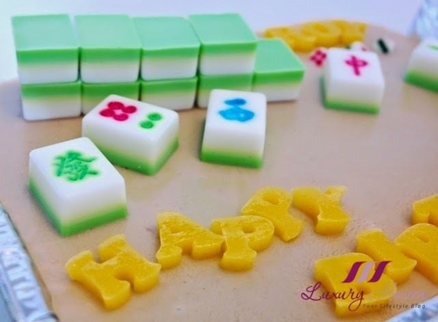 Mahjong Agar Agar Cake For Potluck Party, Anyone Game?