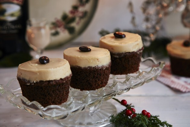 Cupcakes med Baileys-creme