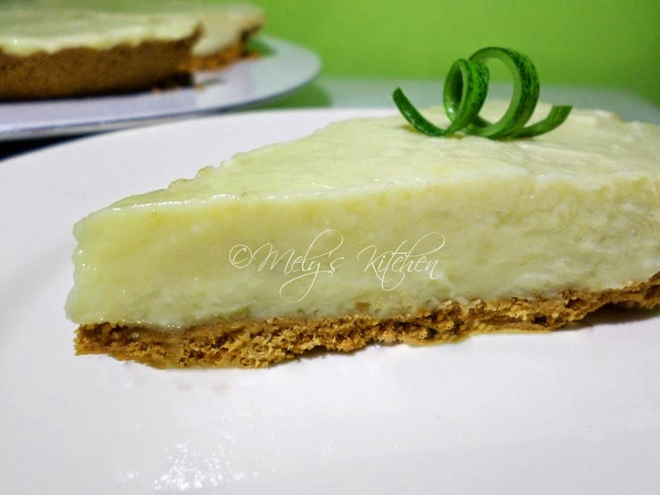 No Bake Durian Pie