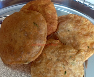Bedami / Deep fried Indian flatbread ….