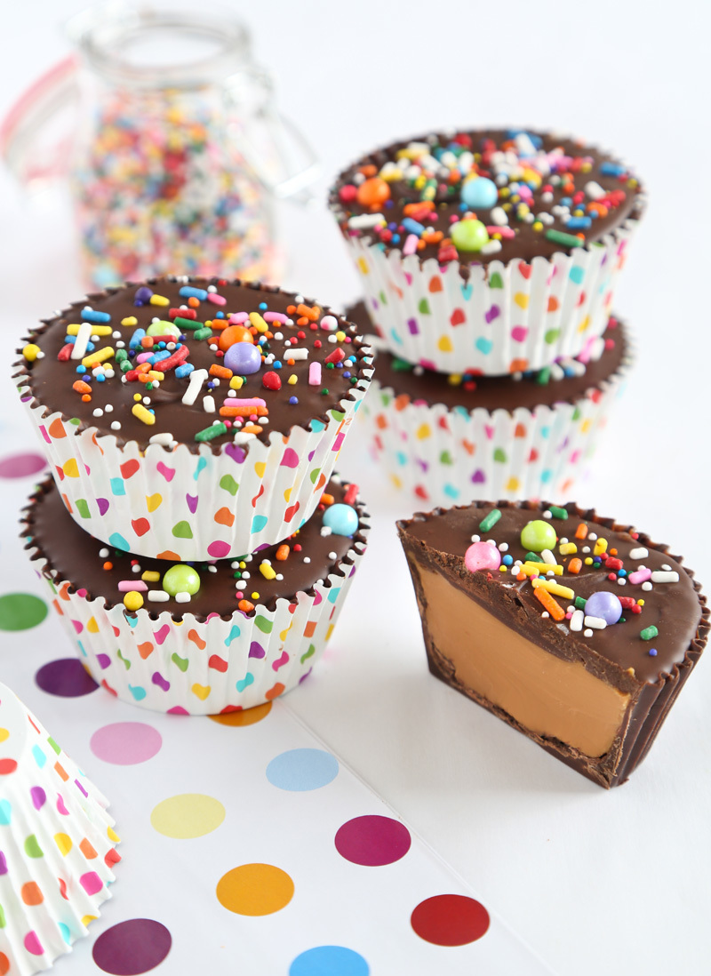 Chocolate Cookie Butter Party Cups