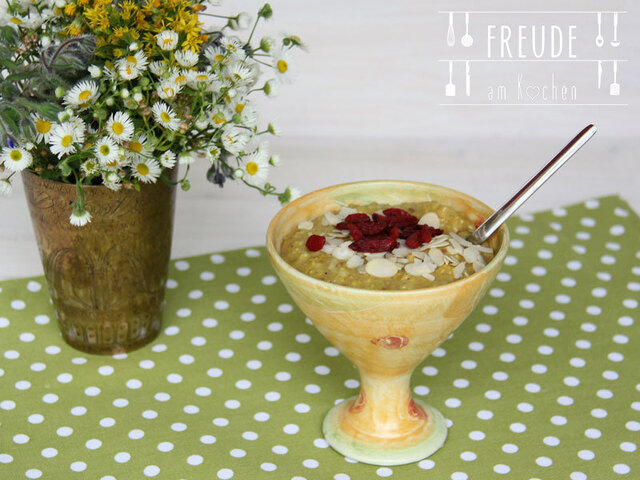 {Thermomix TM5} Hirse Brei mit Superfoods #vegan