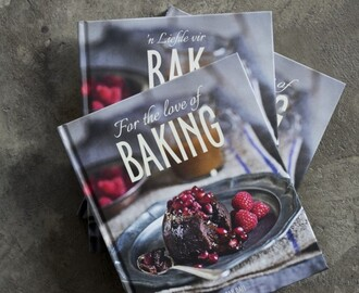 For the Love of Baking by Sarah Dall (GIVEAWAY AND REVIEW)
