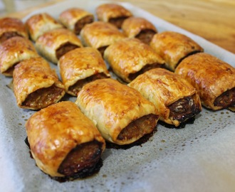 Quick and Easy Sausage Rolls