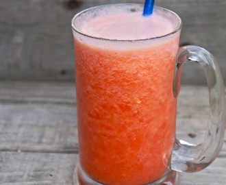 Watermelon and pineapple citrus slush