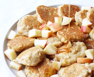 Mini - Apple - Pancakes {vegan}
