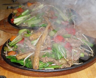 Sizzling Beef and Vegetable Stir Fry