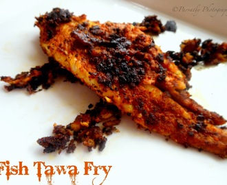 Fish Tawa Fry | Simple Fish Fry
