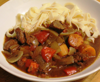 Slow Cooked Italian Beef with Pasta