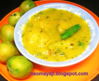 Quick Mango Fruit Gojju