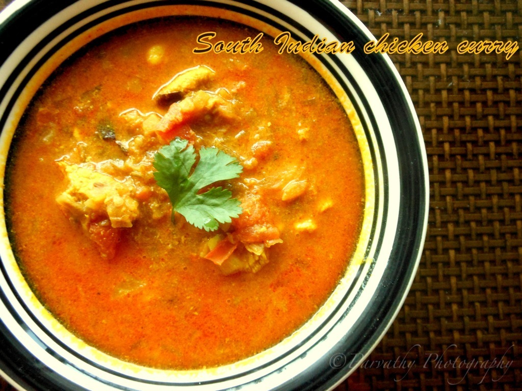 Chicken Kuzhambhu | South Indian Chicken Curry