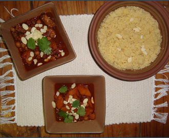 Lamb tagine with butternut