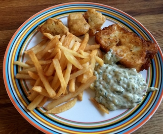 Vegansk Fish 'N' Chips