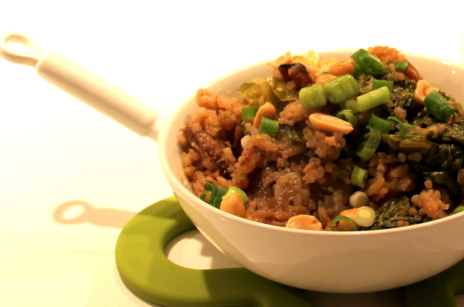 SAWCLicious: Kiam-Pong (Chinese Fried Rice cooked in Pork Stew)