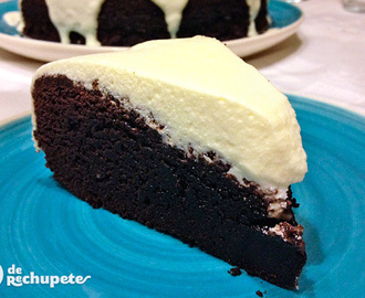 Tarta de chocolate Guinness. Receta Saint Patrick's Day