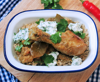 Guest Post: Coconut Chicken Curry by Tess Ward, Chef and Food Writer
