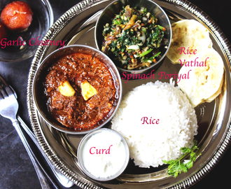 South Indian – #Lunch Menu 2