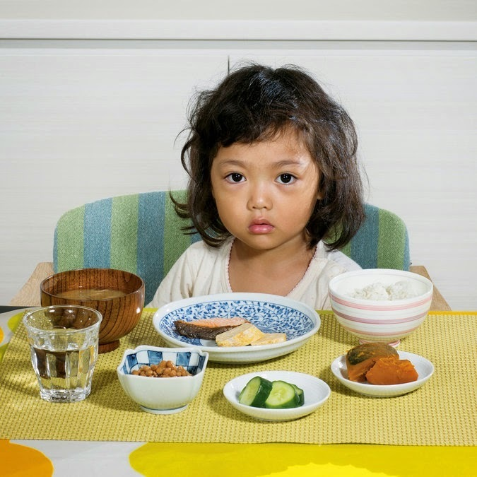 What kids around the world eat for breakfast