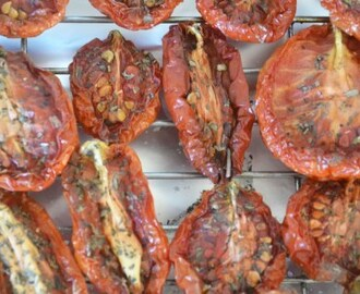 Preserved, Oven Dried Tomatoes