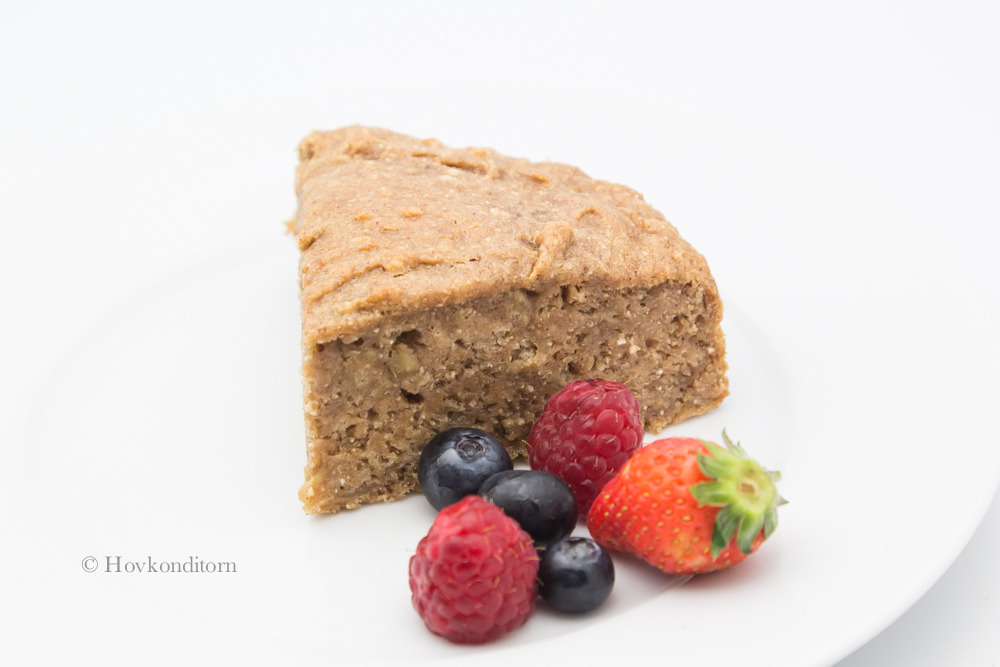 Vegan and Gluten-Free Banana Cake