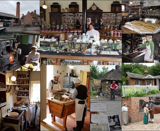 Openluchtmusea in Engeland: Blists Hill Victorian Town en Black Country Living museum
