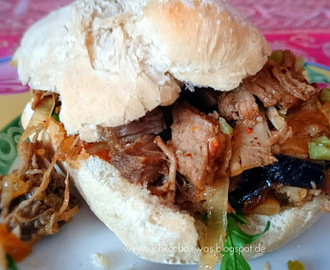 Pulled Pork Burger - aus dem Backofen