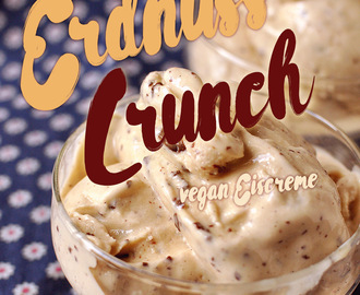 Erdnuss Crunch Vegan Eiscreme