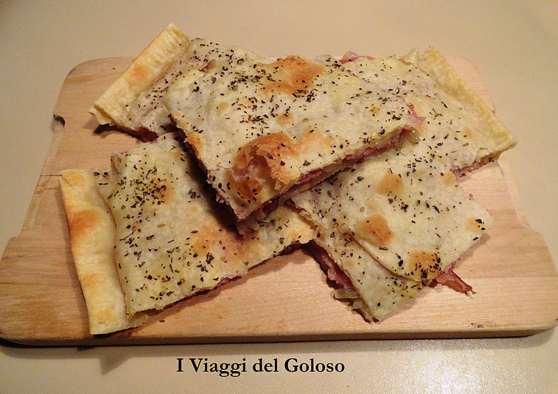 PIZZE E FARINATE TORTE SALATE