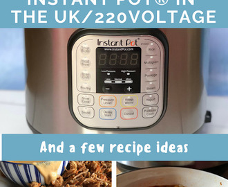 Where to buy an Instant Pot in the UK, Europe and other 220~240 voltage countries