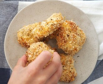 Oven Baked Crunchy Chicken Nuggets