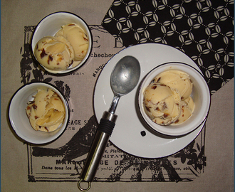 Our Growing Edge: Prune and sherry ice cream