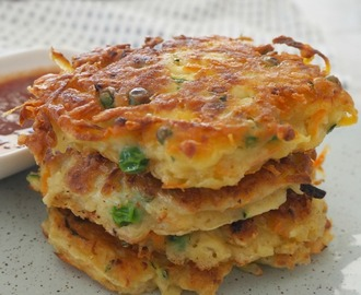 Thermomix Vegetable Fritters