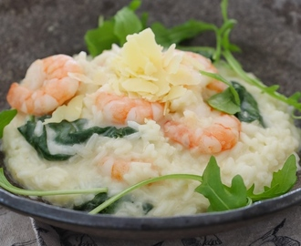 Thermomix Garlic Prawn Risotto